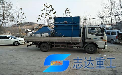 安徽池州DMC-96袋除尘器发货现场