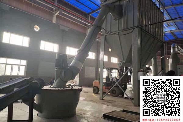 河南周口白云石磨粉机生产线已建立